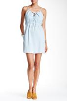 Mimichica Mimi Chica Lace-Up Denim Dress