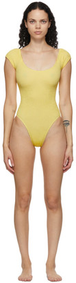 BOUND by Bond-Eye Yellow The Mischa One-Piece Swimsuit