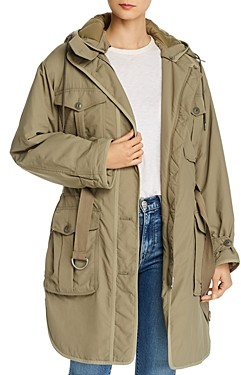 Rag & Bone Basse Cargo Jacket with Quilted Lining