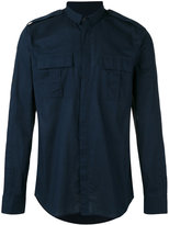 Balmain military shirt - men - Cotton - 38