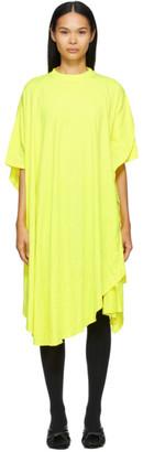 Balenciaga Yellow Political Circle Dress