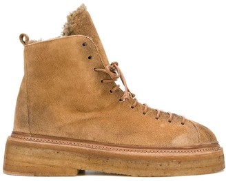 Marsèll Shearling Lined Boots
