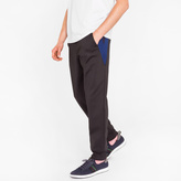 Paul Smith Men's Black Sweatpants With Side Panels