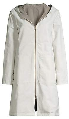 Eileen Fisher Women's Longline Zip-Up Jacket