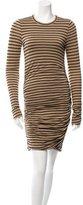 A.L.C. Striped Bodycon Dress