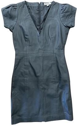 Gestuz Grey Leather Dress for Women