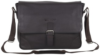 Ben Sherman Premium Karino Leather Laptop Case