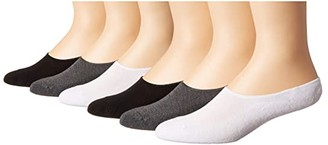 Sof Sole Comfort Ultra No Show 6-Pack (Assorted) Women's Crew Cut Socks Shoes