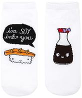 Forever 21 FOREVER 21+ I'm Soy Into You Graphic Socks