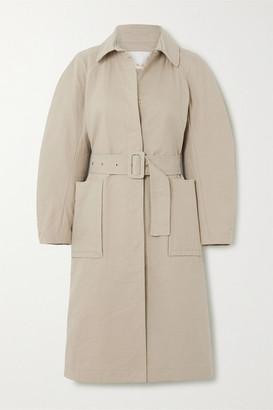 REMAIN Birger Christensen Elba Belted Cotton-blend Coat