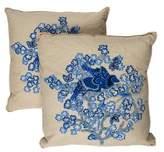 Ankasa Embroidered Throw Pillows