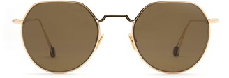 AHLEM Place Dauphine Champagne Sunglasses