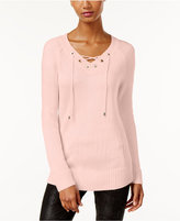 Calvin Klein Lace-Up Sweater