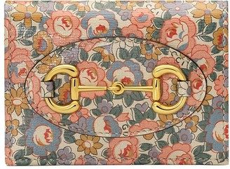 Gucci Horsebit 1955 Liberty London cardholder wallet