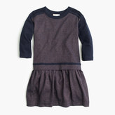 J.Crew Girls' two-in-one sparkle jersey dress