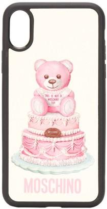 Moschino Teddy Bear iPhone X/XS case