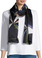 Vince Camuto Patterned Silk Scarf