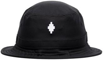 Marcelo Burlon County of Milan Cross Logo Bucket Hat
