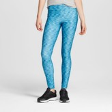 Mossimo Women's Urban Legging Teal Space Dye Juniors')