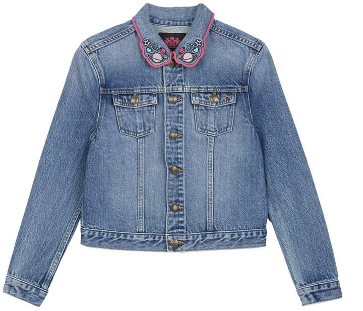 Juicy Couture Wild Hearts Denim Jacket for Girls