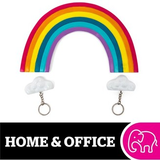 IDEA Bigmouth Inc. BigMouth Inc. Rainbow Key Holder Cute and Fun Home Accessories Makes a Great Gift for Housewarming Parties, Holidays, and Birthdays