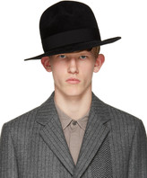 Robert Geller Black Felt Raphael Hat