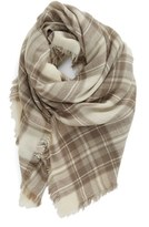 BP Women's Plaid Square Scarf