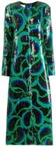 Marni sequined cornucopia pattern dress