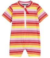 Toobydoo Sun Stripe Sun Suit (Baby Girls)
