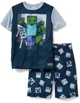 Old Navy 2-Piece Minecraft Sleep Set for Boys