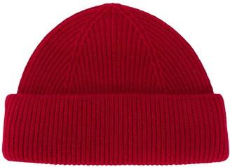 Isabel Marant Ribbed Beanie Hat
