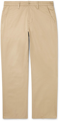Nudie Jeans Lazy Leo Organic Cotton-Twill Chinos - Men - Neutrals