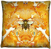 Houseology Timorous Beasties Honey Bee Cushion