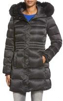 Sachi Women's Down Coat With Genuine Fox Fur Trim