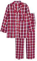 H&M Flannel Pajamas - Red/plaid - Ladies