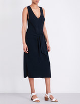 Rag & Bone Michelle tie-front cotton-blend dress
