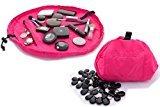 Lay-n-Go Layngo COSMO Cosmetic Bag, Hot Pink