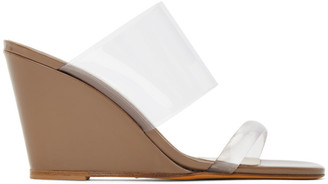 Maryam Nassir Zadeh Tan Olympia Wedge Sandals