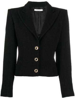 Alessandra Rich Single-Breasted Tailored Blazer