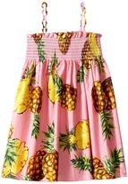 Dolce & Gabbana Tropical City Sleeveless Dress Girl's Dress