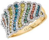 LeVian Exotics Multi-Colored Diamond and 14K Honey Gold Ring