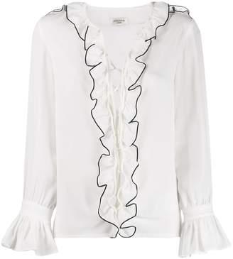 Jovonna London ruffled shirt