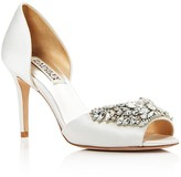 Badgley Mischka Candance Embellished d'Orsay High Heel Pumps