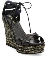 Sergio Rossi Bilbao Leather Sandals