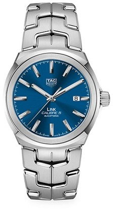 Tag Heuer Link 41MM Stainless Steel Three-Hand Automatic Bracelet Watch