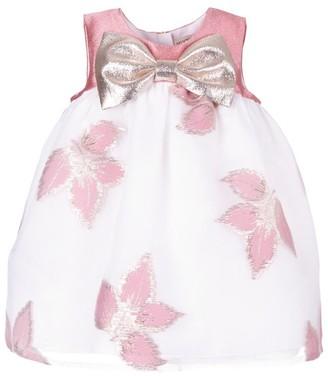 Hucklebones London Metallic Leaf Dress and Bloomers Set (3-18 Months)