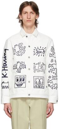 Études White Keith Haring Edition Denim Guest Jacket