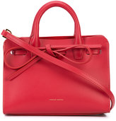 Mansur Gavriel bow front tote bag - women - Leather - One Size