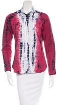 Libertine Patterned Button-Up Top