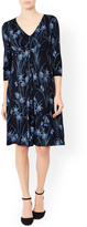 Monsoon Evelyn Print Knee Length Dress